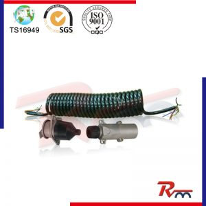 Electric Coil Assembly & Coupler for Truck and Trailer